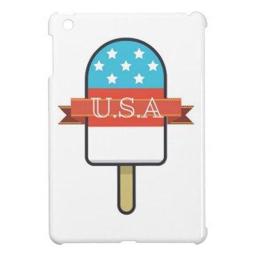 USA Themed U.S.A. Ice Lolly Case For The iPad Mini