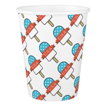U.S.A. Ice Lolly Paper Cup