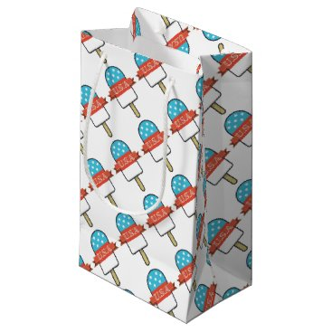 USA Themed U.S.A. Ice Lolly Small Gift Bag