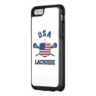 U.S.A Lacrosse Phone Case