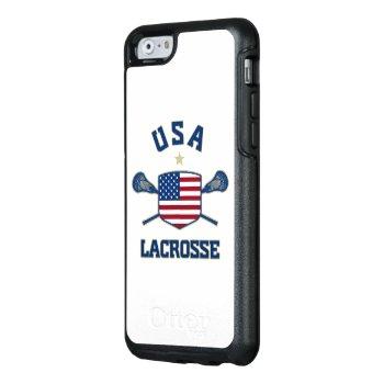 U.s.a Lacrosse Phone Case by laxshop at Zazzle
