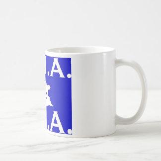 U.S.A. Logotipo 1.jpg de M.M.A. Taza De Café