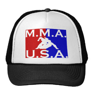 U.S.A. Logotipo 3 de M.M.A. Gorro