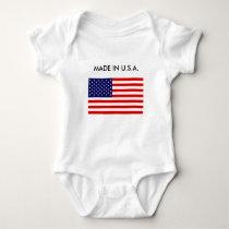 U.S.A. Made Baby Baby Bodysuit