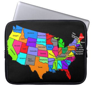 U.S. A. MAP Electronics Bag Laptop Computer Sleeves