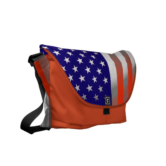 U.S.A. MESSENGER BAG