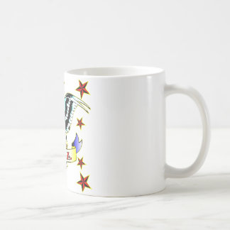 U.S.A Old School Eagle Tattoo Coffee Mug