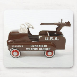 U.S.A. Peddle Car. Mousepad Mouse Pad