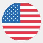 U.S.A. Pegatina de la bandera