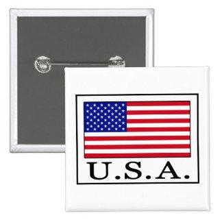 U.S.A. PINBACK BUTTON