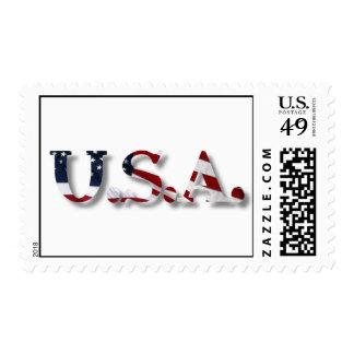 U.S.A. POSTAGE
