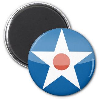 U.S.A.  Retro Magnet