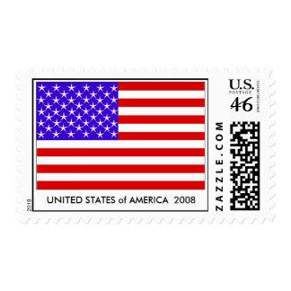 U.S.A.  Sellos 2008