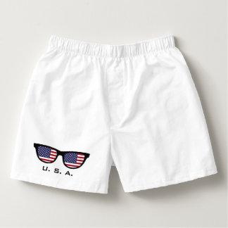 U.S.A. Shades custom boxers