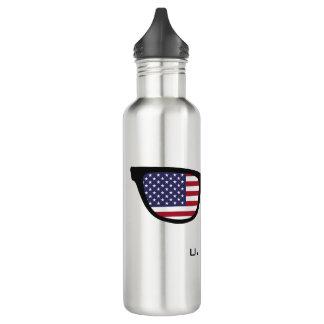 U.S.A. Shades custom water bottles