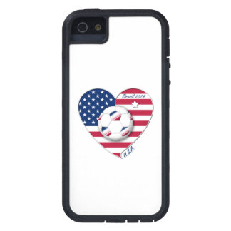 """""""U.S.A."""" Soccer Team Soccer of the United States 2 iPhone SE/5/5s Case"""