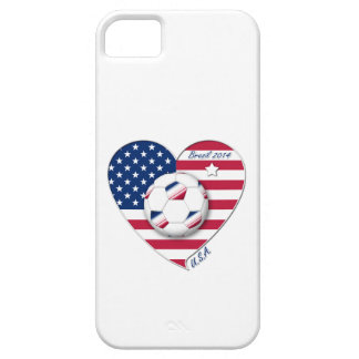 """U.S.A."" Soccer Team Soccer of the United States 2 iPhone SE/5/5s Case"
