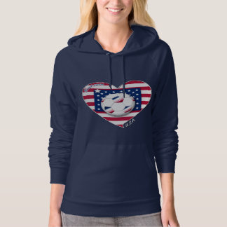 """U.S.A."" Soccer Team. Soccer of the United States. Hoodie"