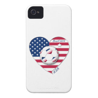 """""""U.S.A."""" Soccer Team. Soccer of the United States iPhone 4 Cover"""
