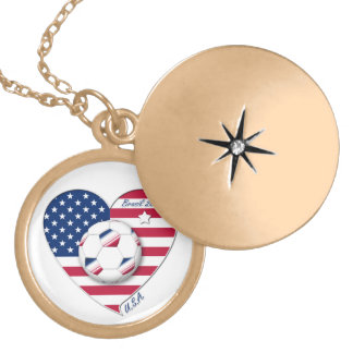 """""""U.S.A."""" Soccer Team. Soccer of the United States Pendants"""