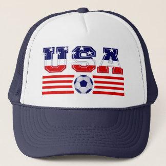 U.S.A SOCCER TRUCKER HAT