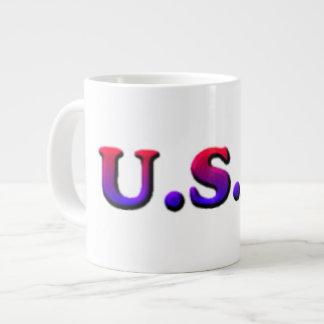U.S.A. Taza de la especialidad Taza Grande
