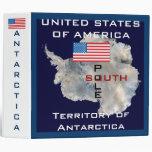 U.S.A. Territory of Antarctica/South Pole Binder