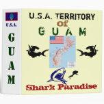 U.S.A. Territory of Guam: Shark Paradise Binders