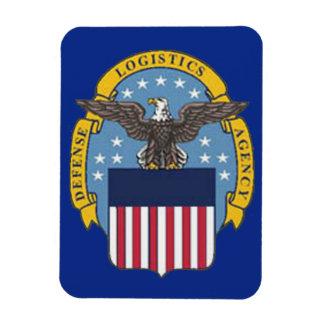 U.S. Agencia de logística de defensa Imán Rectangular
