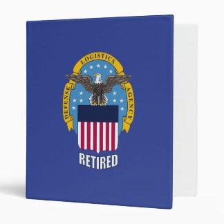 "U.S. Agencia de logística de defensa jubilada Carpeta 1"""