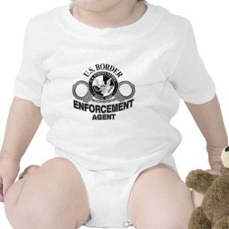 U.S. Agente de aplicación de la patrulla fronteriz Trajes De Bebé
