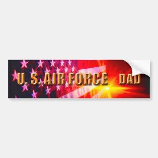 U.S. Air Force Dad Bumper Sticker