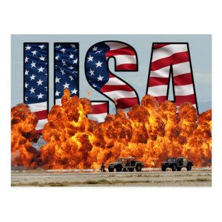 U.S. Air Force Heroes Postcard