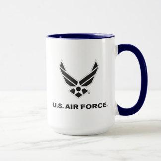U.S. Air Force Logo - Black Mug