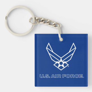U.S. Air Force Logo - Blue Keychain