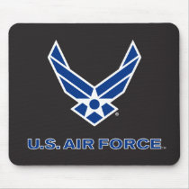 U.S. Air Force Logo - Blue Mouse Pad