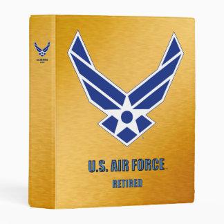 U.S. Air Force Retired Avery Mini Binder