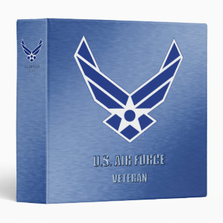 "U.S. Air Force Vet Avery Signature 1.5"" Binder"