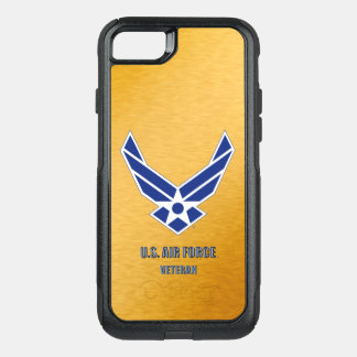 U.S. Air Force Vet iPhone & Samsung Otterbox Case