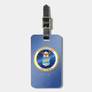 U.S. Air Force Veteran Luggage Tag
