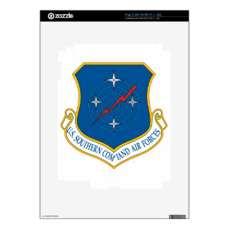U.S. Air Forces Southern Command (AFSOUTH) Skins For The iPad 2