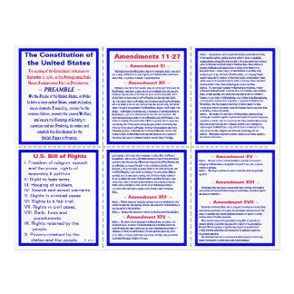 U.S. Amendments 11-27 Pocket Pamphlet / Bookmark Flyer