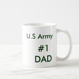U.S Army #1 DAD Coffee Mugs