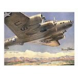 U.S. Army Bomber Postcard