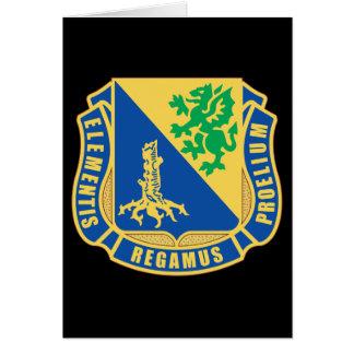 U.S. Army Chemical Corps regimental insignia Card