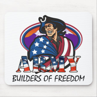 """U.S. Army Patriot """"Builders of Freedom"""" Mouse Pad"""