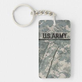 U.S. Army Rectangle (single-sided) Keychain