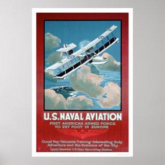 U.S. Aviación naval (US02304) Póster