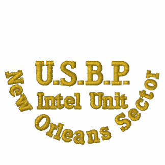 U.S.B.P, New Orleans Sector, Intel Unit Embroidered Polo Shirt
