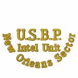 U.S.B.P, sector de New Orleans, unidad de Intel Camiseta Polo